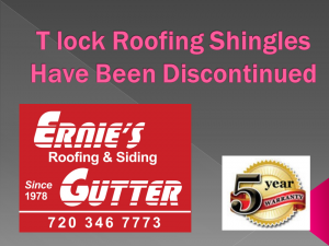 T Lock Roofing Shingles Are No Longer Available Roofing