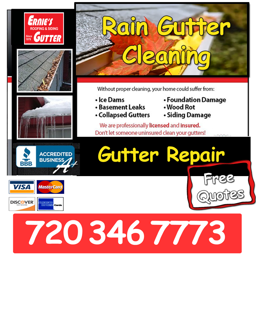 Commercial Rain Gutter Cleaning Roofing Siding Gutter