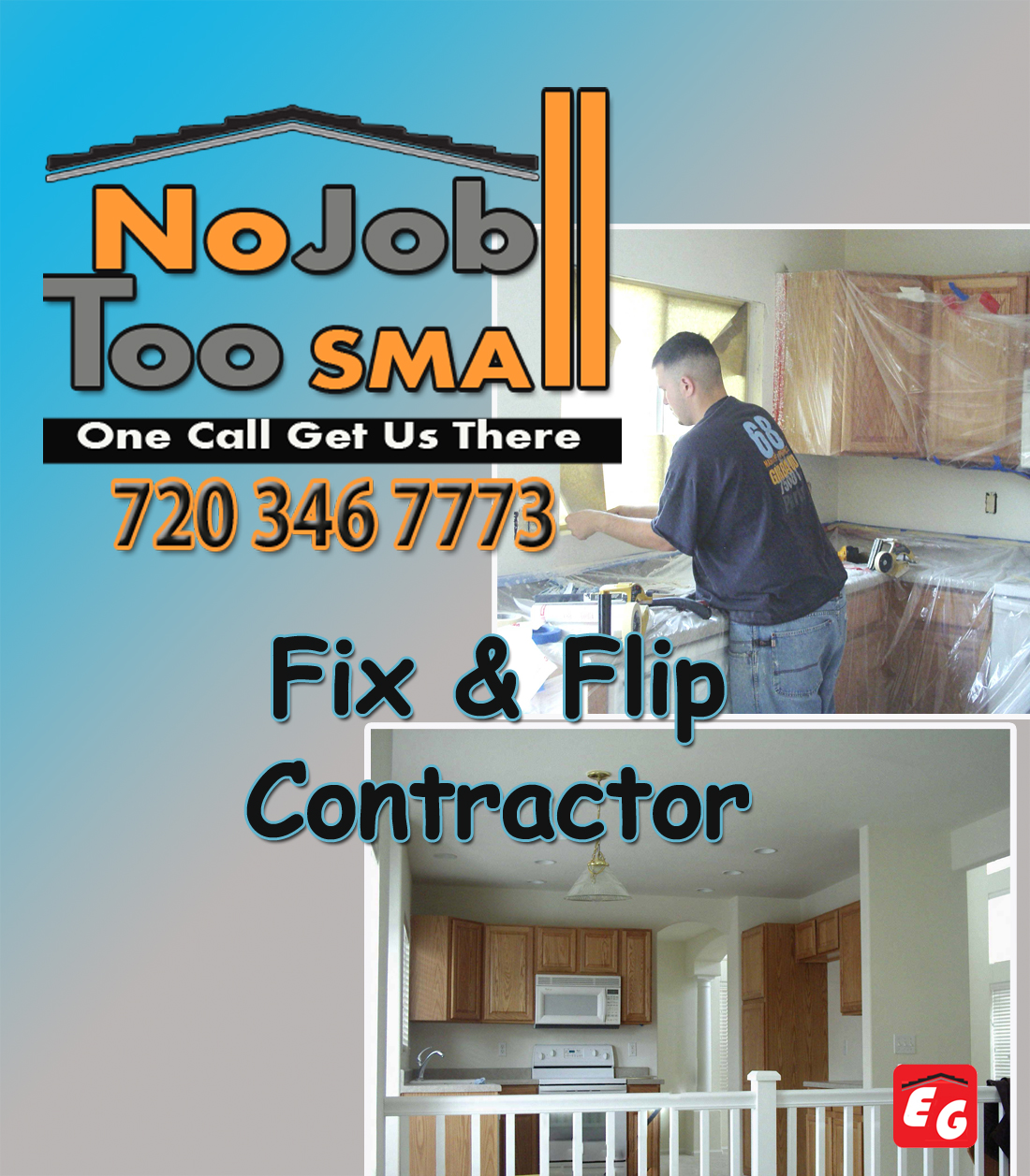 Fix And Flip Contractor Roofing Siding Gutter Denver Co