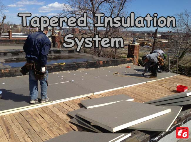Roof insulation flat roof - Tapee d isolation ...