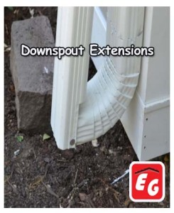 Are Rain Gutter Downspout Extensions Good Roofing Siding